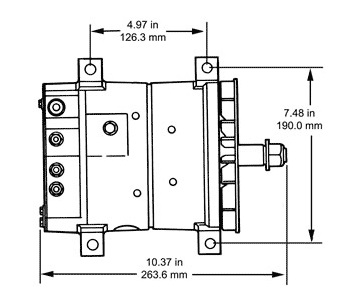35SI-HP-Pad-Mount-Dimensions